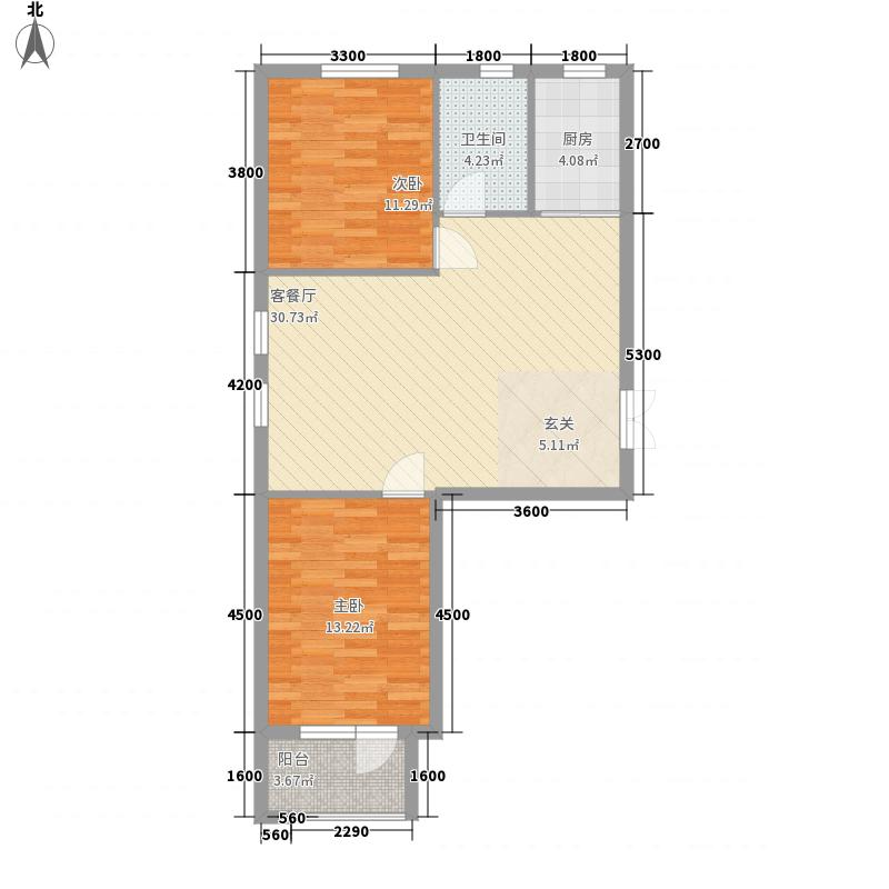 天鸿1.7英里90.00㎡天鸿1.7英里户型图3号楼D户型2室2厅1卫1厨户型2室2厅1卫1厨
