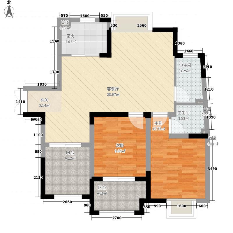 新洲花园100.00㎡新洲花园户型图2室户型图2室2厅1卫1厨户型2室2厅1卫1厨