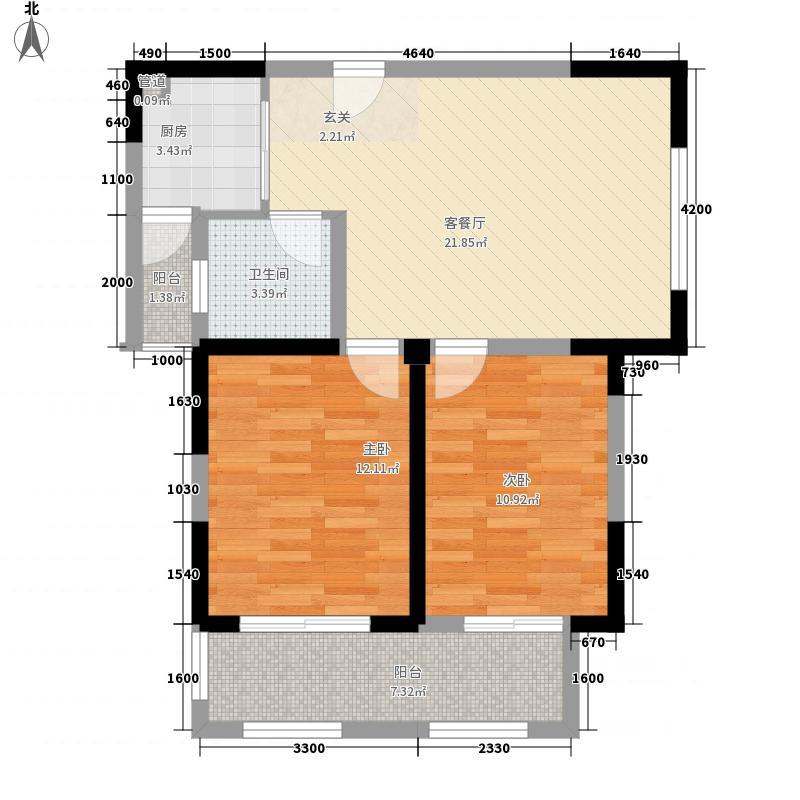 春天里春天里户型图32室2厅1卫1厨户型2室2厅1卫1厨