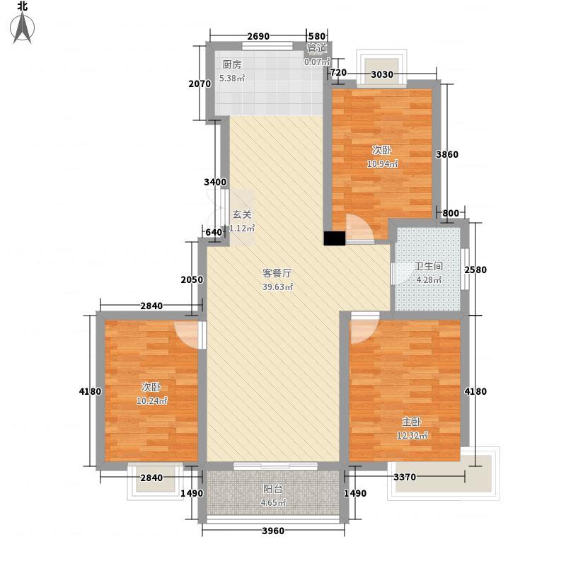瘦西湖名苑116.97㎡瘦西湖名苑户型图G户型3室2厅1卫1厨户型3室2厅1卫1厨