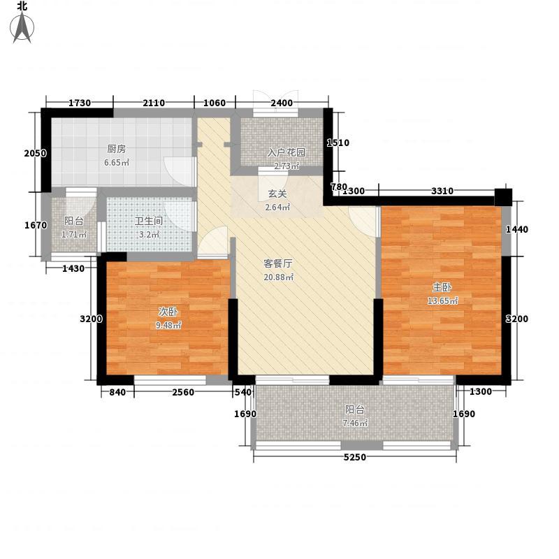 金域天下90.00㎡金域天下户型图M户型2室2厅1卫1厨户型2室2厅1卫1厨