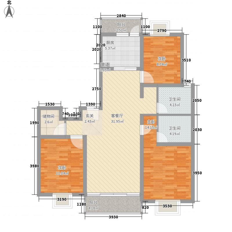 天台家园128.00㎡上海天台家园户型10室