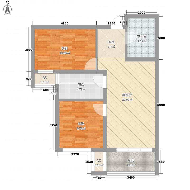 世纪御庭B1-B6栋楼E1户型