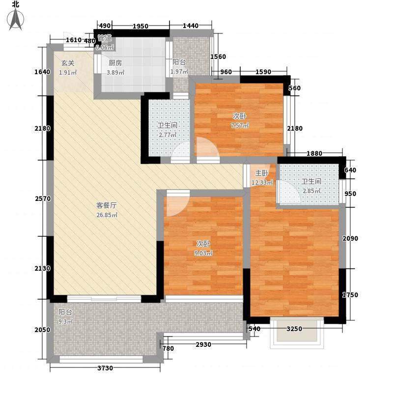 川嘉・外滩国际城川嘉・外滩国际城户型E户型10室