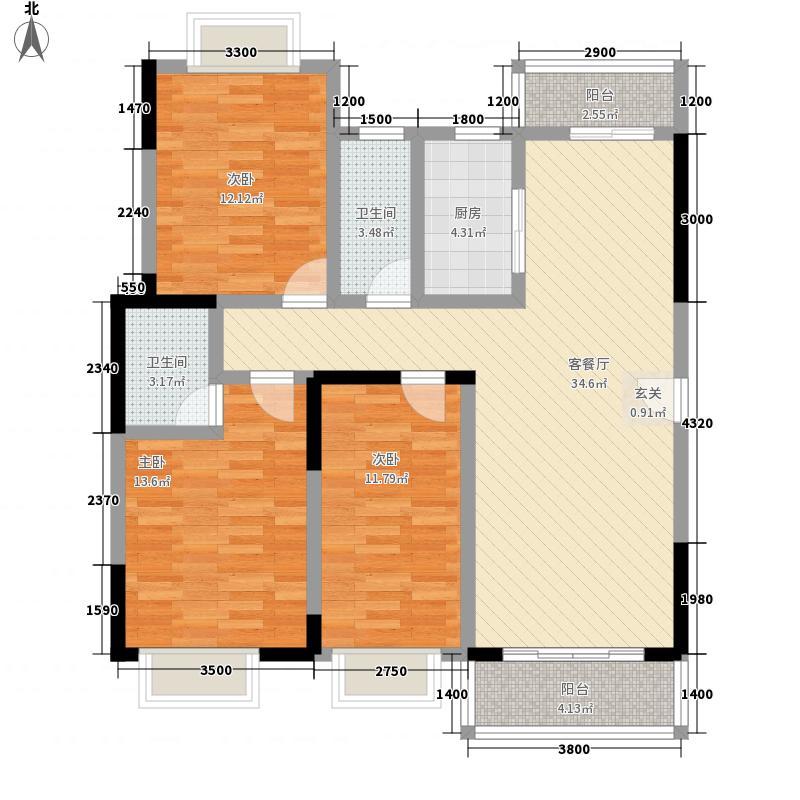 时尚岛蓝钻48.00㎡时尚岛蓝钻1室户型1室