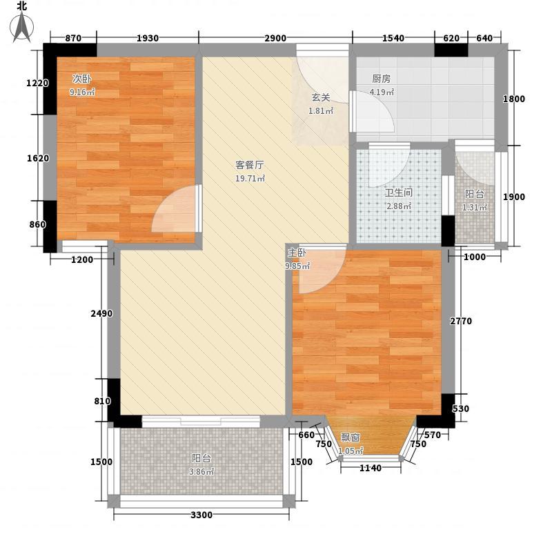 正大花苑正大花苑户型图201007240843282室1厅1卫1厨户型2室1厅1卫1厨