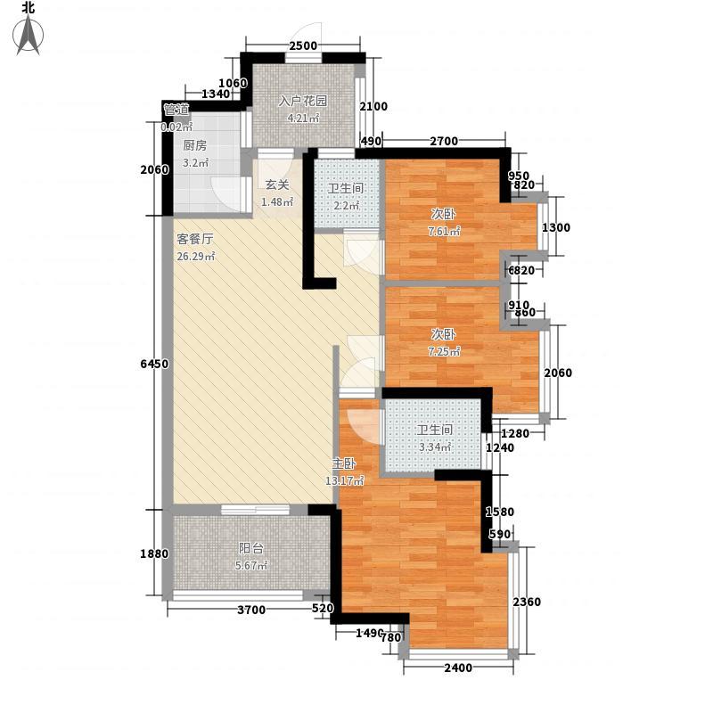 万象天成89.00㎡万象天成户型图户型图13室2厅2卫1厨户型3室2厅2卫1厨