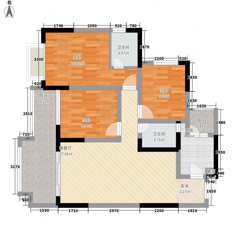 川嘉・外滩国际城川嘉・外滩国际城户型B户型10室