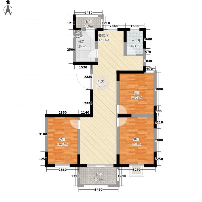 �泰赢家广场120.33㎡�泰赢家广场户型图3室2厅1卫1厨户型10室