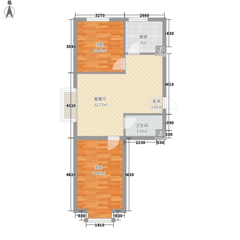 阳光嘉园78.00㎡阳光嘉园户型图四期户型图2室2厅1卫户型2室2厅1卫
