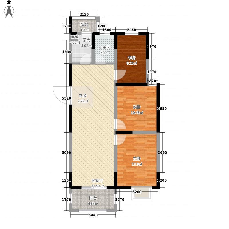 �泰赢家广场108.98㎡�泰赢家广场户型图3室2厅1卫1厨户型10室