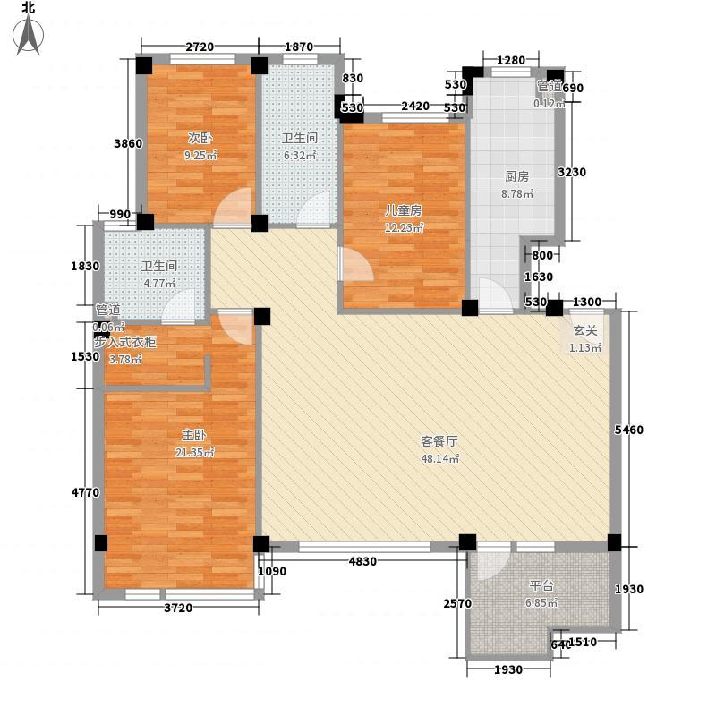 良辰美景良辰美景户型图0783123_7762室1厅1卫1厨户型2室1厅1卫1厨