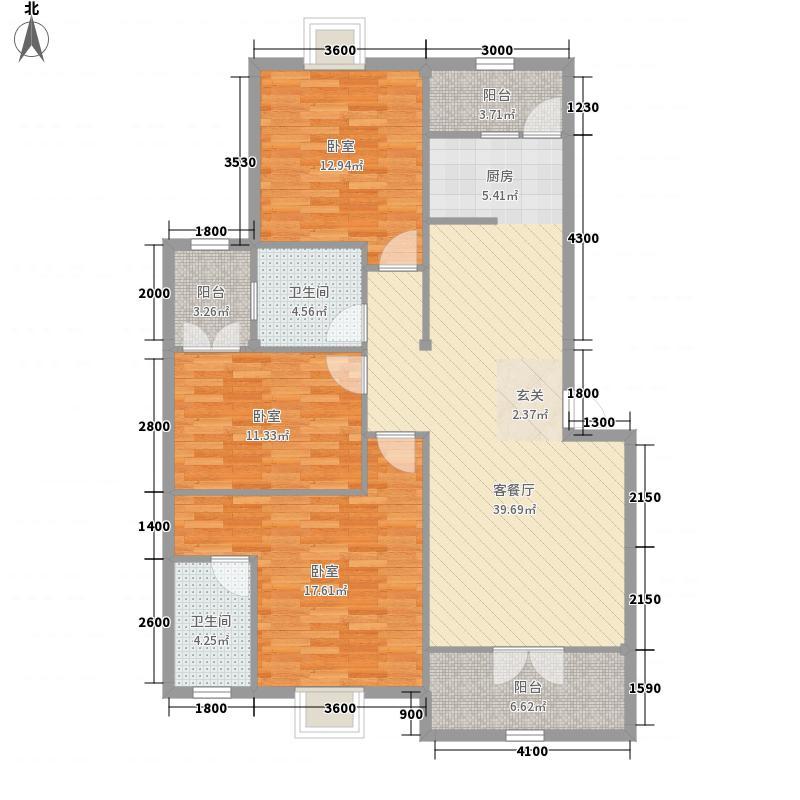 白云・世纪城117.94㎡白云・世纪城M户型(多层)3室2厅2卫1厨117.94㎡户型3室2厅2卫1厨