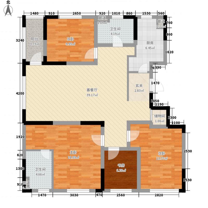 映湖山庄298.00㎡映湖山庄5室户型5室