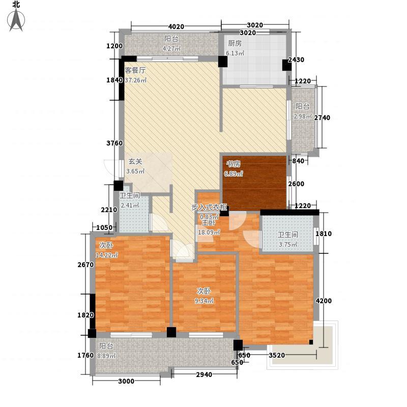 家天下三木城139.00㎡家天下三木城户型图A6户型(三期户型)4室2厅2卫户型4室2厅2卫