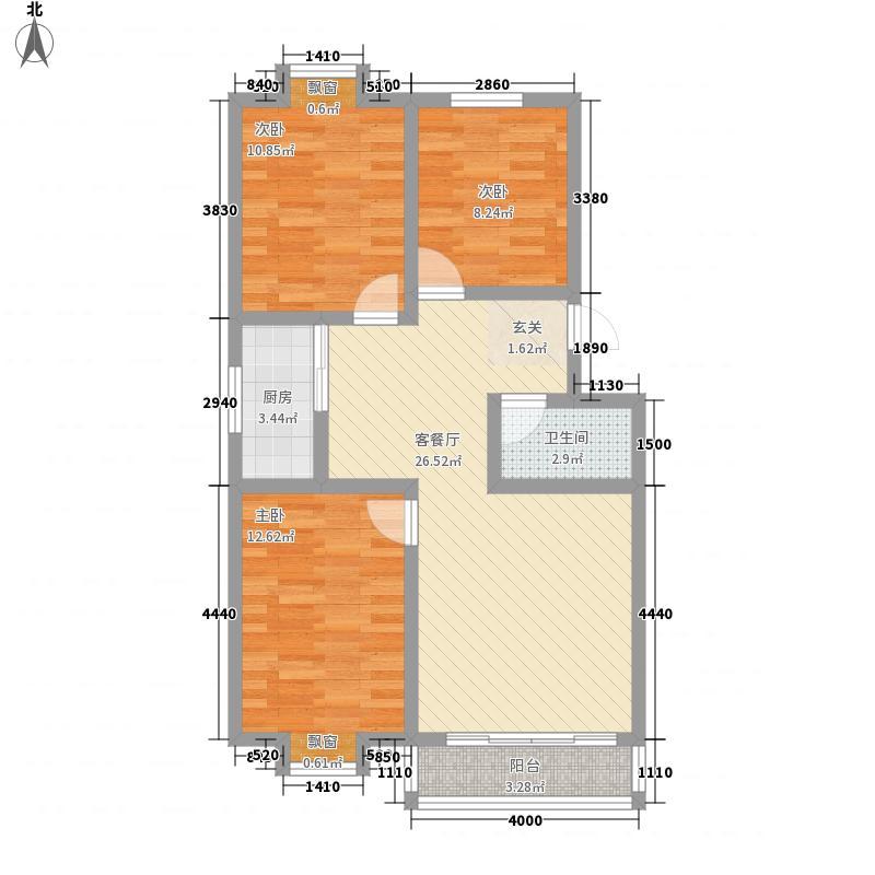 东升小区93.00㎡东升小区3室户型3室