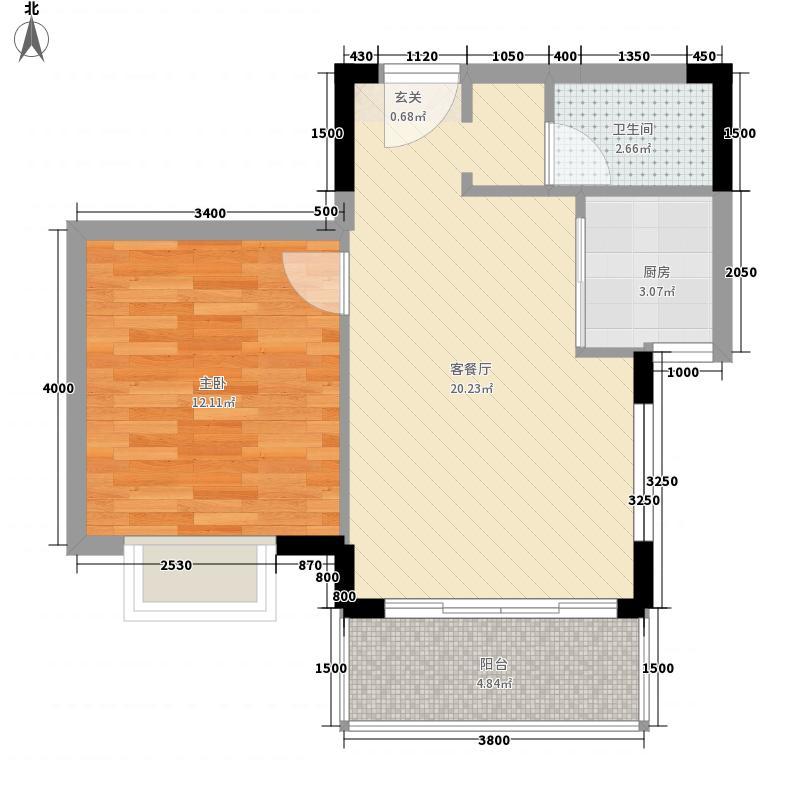 南滨花园55.20㎡南滨花园D1户型55.20㎡户型10室