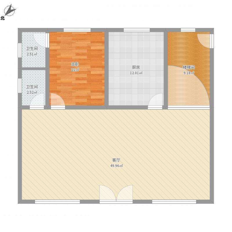 张国生的楼房设计图一楼