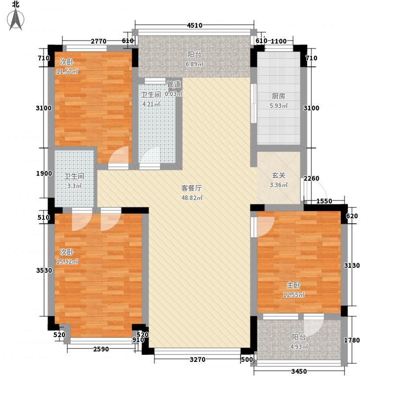 怡众名城139.52㎡怡众名城户型图C户型图3室2厅2卫户型3室2厅2卫