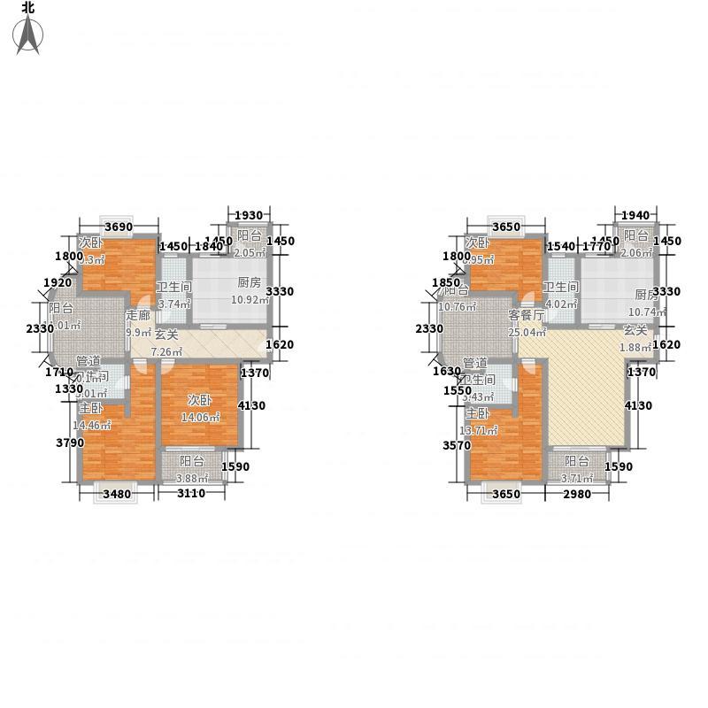 东亚.马赛公馆117.28㎡东亚马赛公馆C-3户型3室2厅2卫1厨