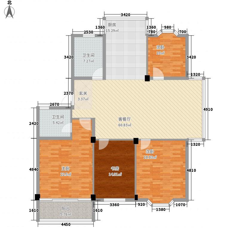 美之苑200.00㎡美之苑户型图户型图3室2厅2卫1厨户型3室2厅2卫1厨