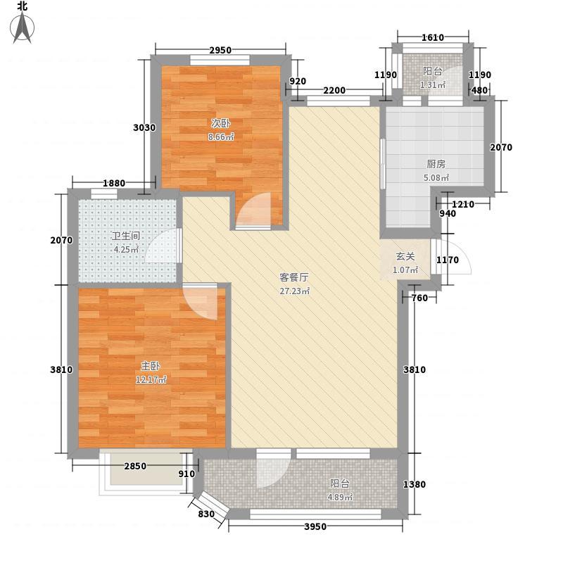山水家园山水家园2室户型2室