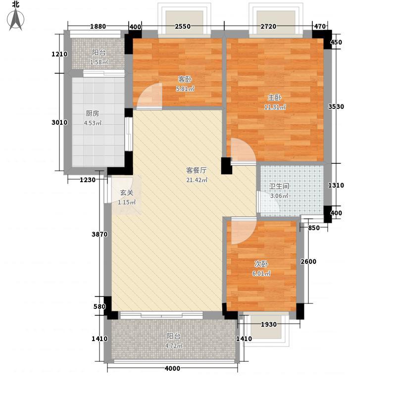 茵悦之生花园深圳茵悦之生花园一期户型图3户型10室