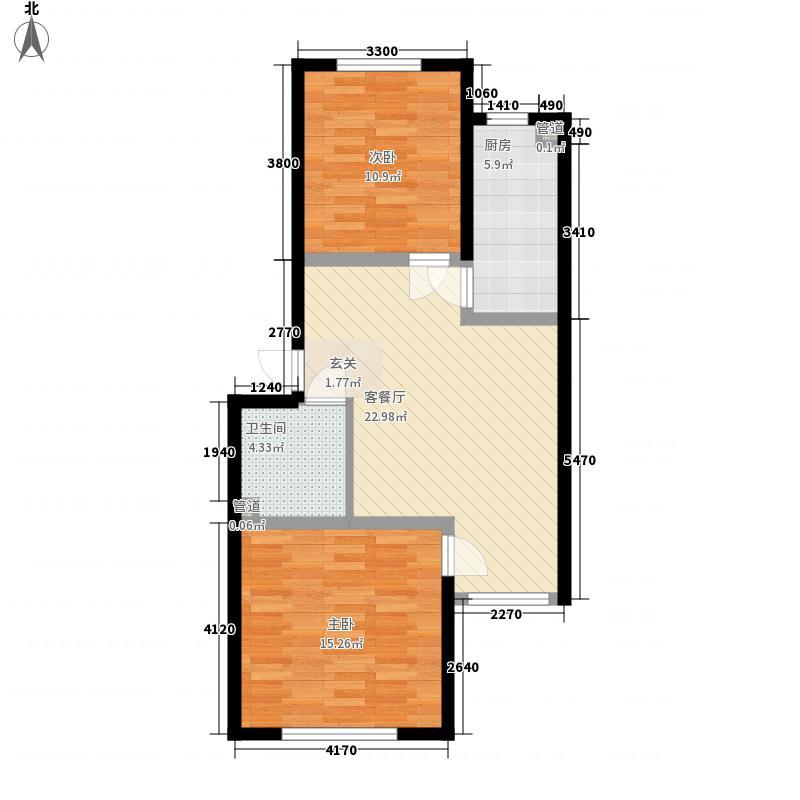 万豪名园84.90㎡万豪名园户型图户型图2室2厅1卫1厨户型2室2厅1卫1厨
