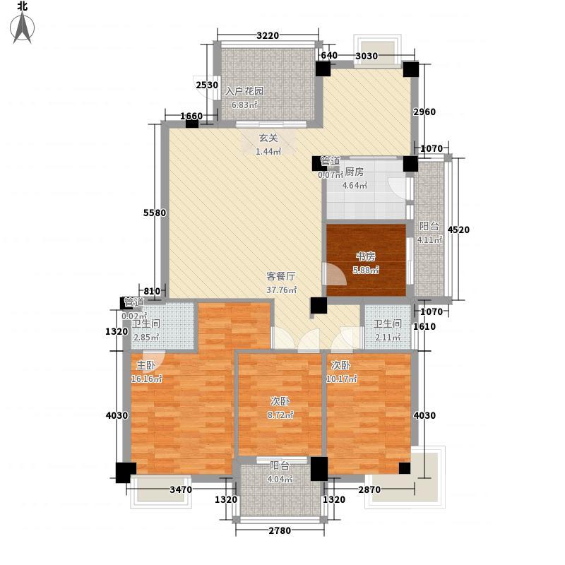 江浩尚景园148.00㎡江浩尚景园户型图G1户型4室2厅2卫1厨户型4室2厅2卫1厨