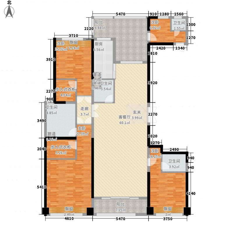 合肥万达广场229.00㎡合肥万达广场户型图10#楼户型C3室2厅3卫1厨户型3室2厅3卫1厨