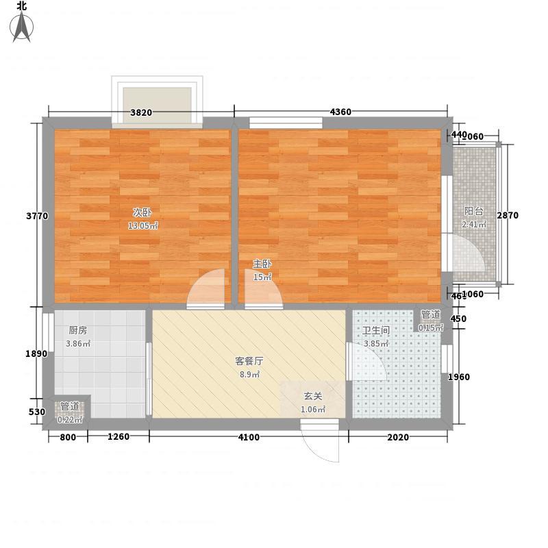 金爵世佳67.06㎡金爵世佳户型图户型图2室1厅1卫1厨户型2室1厅1卫1厨