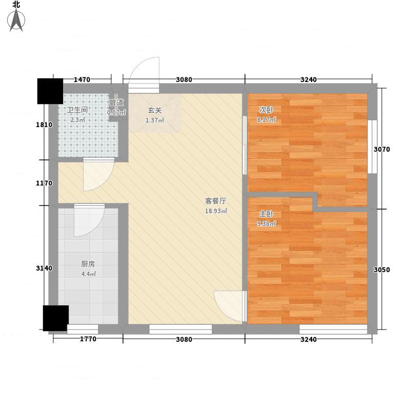尚书微公馆67.35㎡尚书微公馆户型图12#户型2室2厅1卫1厨户型2室2厅1卫1厨