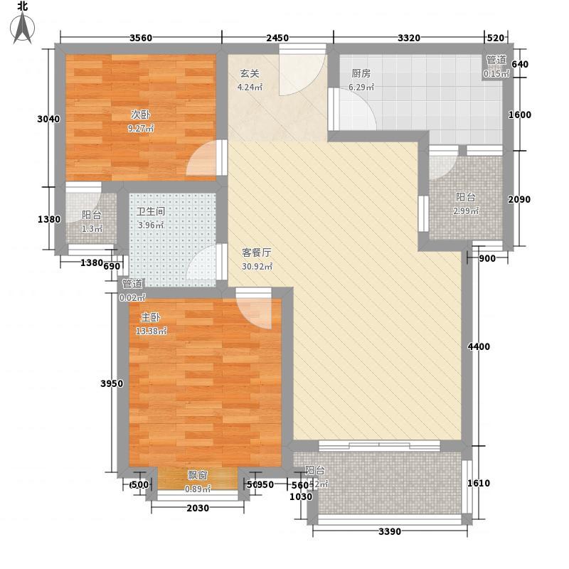 合肥万达广场合肥万达广场户型图D3户型87-89㎡2室2厅1卫1厨户型2室2厅1卫1厨