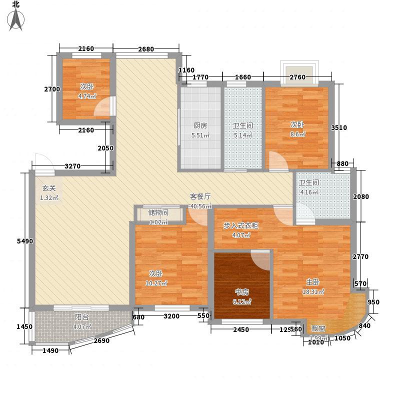 万马滨河城152.91㎡万马滨河城户型图户型图4室2厅2卫1厨户型4室2厅2卫1厨