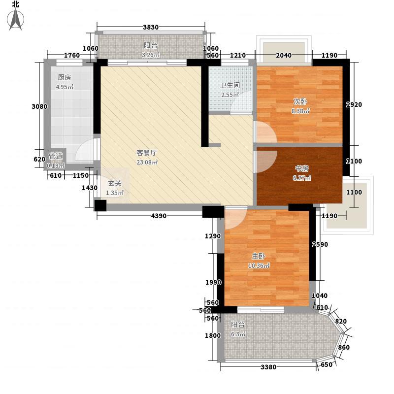 闽侯上街地税局单位宿舍114.00㎡闽侯上街地税局单位宿舍3室户型3室