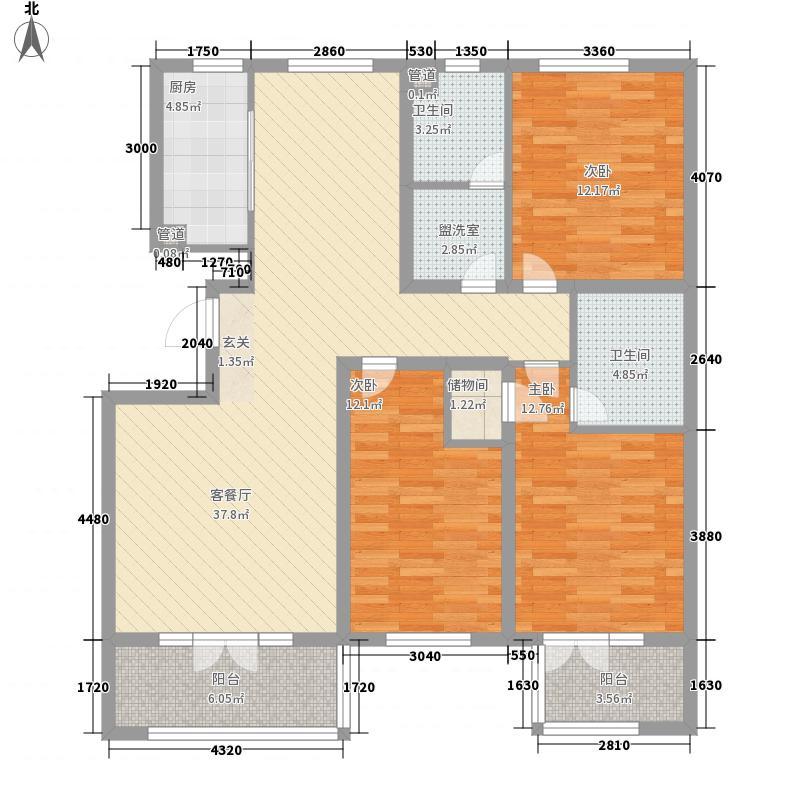 文景苑二期146.00㎡文景苑二期户型图3室2厅2卫户型3室2厅2卫