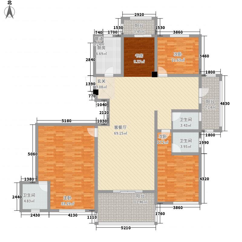 安大磬苑户型4室