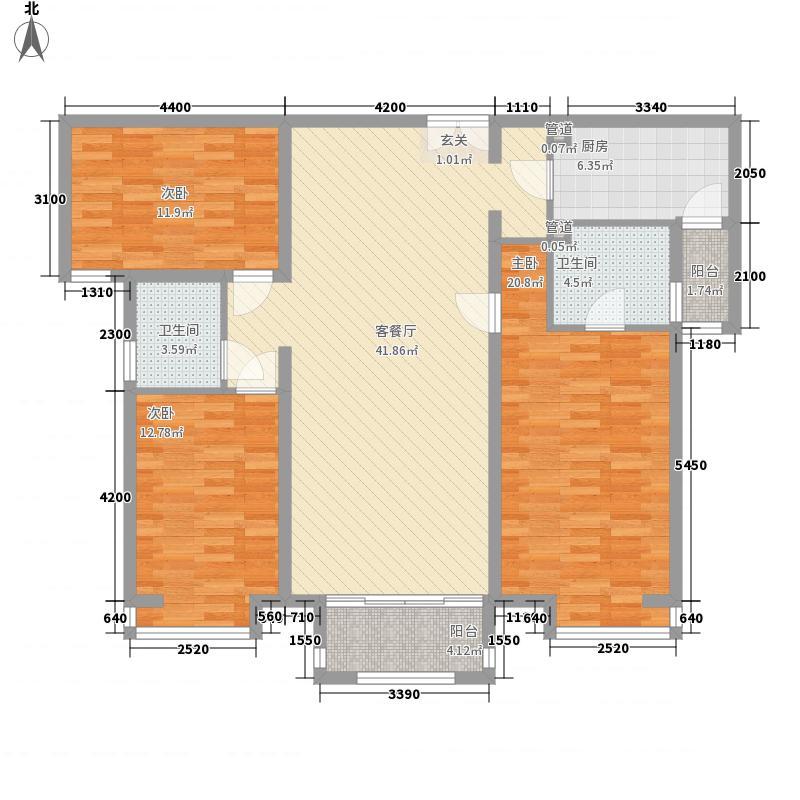 海宝小区・福地苑一居室25户型1室1厅1卫1厨