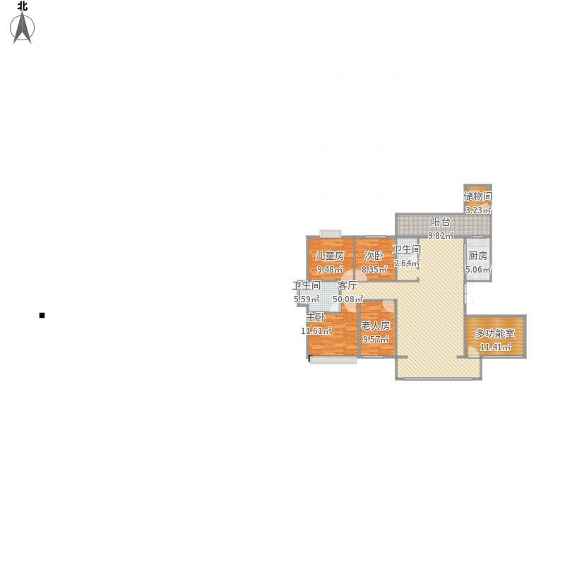 我的设计-万宝国际A2栋
