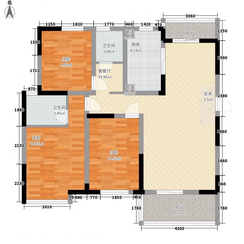 西山银杏87.00㎡西山银杏・芒果公寓户型图A3户型偶数层两室两厅一卫87㎡2室2厅1卫户型2室2厅1卫