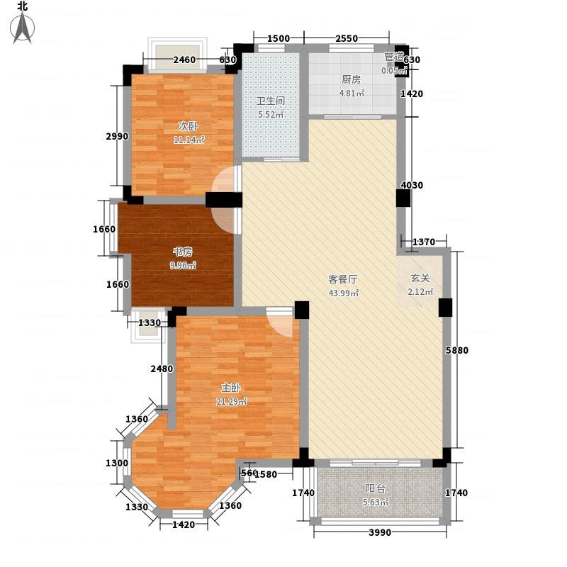 名邦西城秀里115.00㎡名邦西城秀里户型图ⅡA3室2厅1卫1厨户型3室2厅1卫1厨