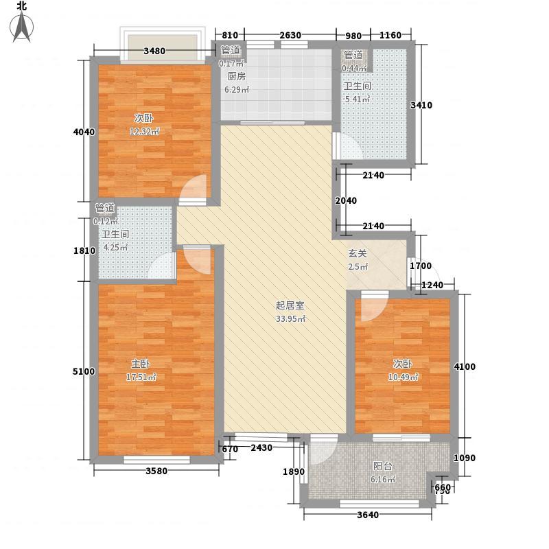 中西友好花园10216221_899764户型3室2厅1卫1厨