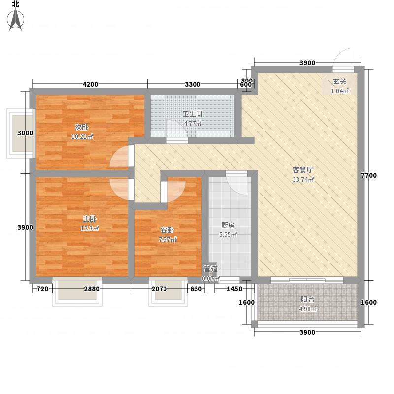 鸿基嘉苑鸿基嘉苑户型图3室2厅1卫1厨户型10室