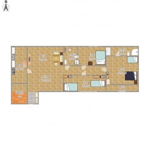 天通苑东一区3室1厅2卫1厨178.00㎡户型图