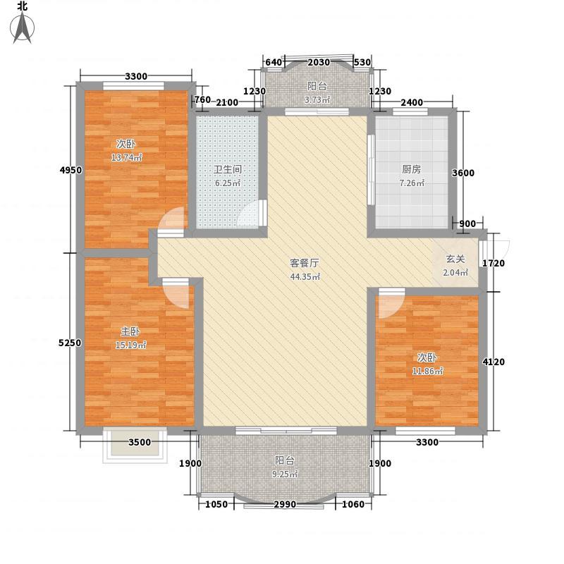 同辉大厦20085317196780_2户型3室1厅1卫1厨