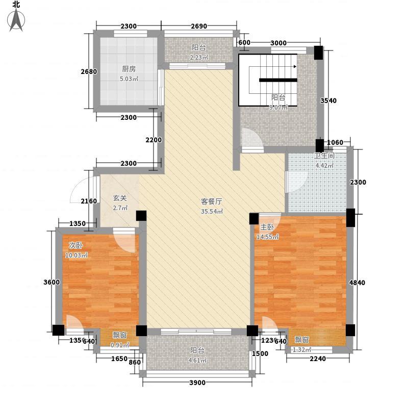 尚东国际帝景花园s20114194211798068户型2室2厅2卫1厨