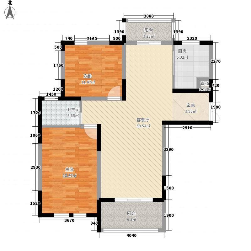 豫景园户型2室