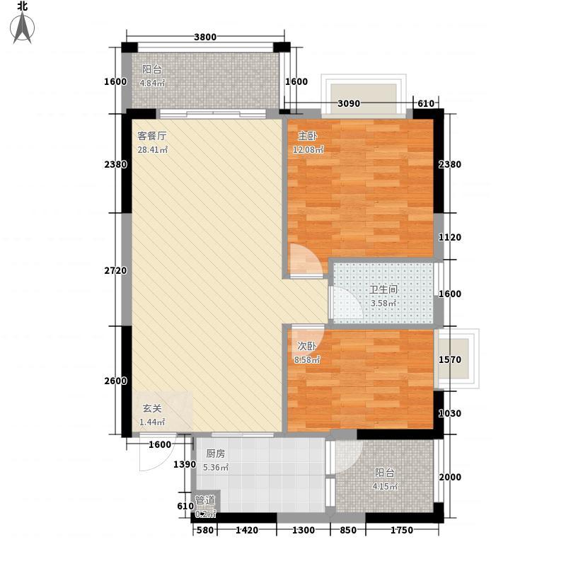 商业中心南区商业中心南区户型图标准层01户型10室