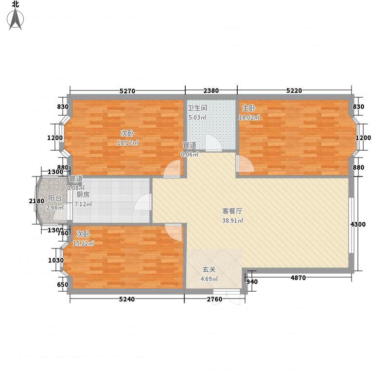 铭钻家园101.32㎡铭钻家园户型图3室2厅1卫1厨户型10室