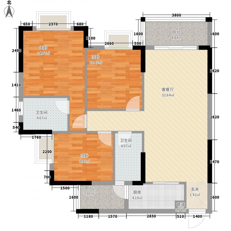商业中心南区商业中心南区户型图标准层02户型10室